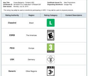 Certificato App Sicura Bergamo